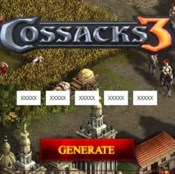 Cossacks 3 key game