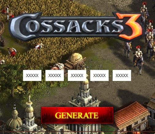 Cossacks 3 kulcs játék