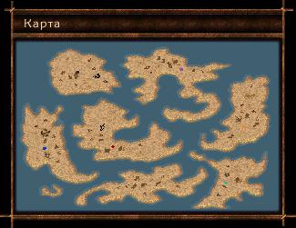A játék térképe