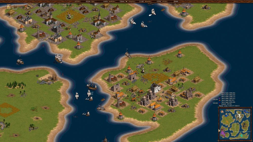 Screenshot from the game Cossacks Empire