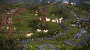Обычное сражение в Казаки 3
