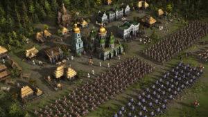 Ukrayna ordusu (Cossacks 3-dan ekran görüntüsü)