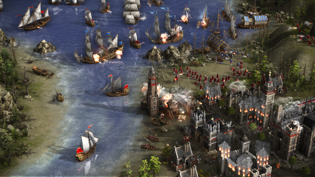 Cossacks 3 screenshoty